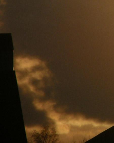 Nubes de formas curiosas - espectro
