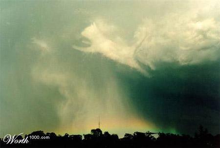 Las formas de las nubes Gato_raton