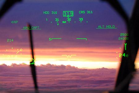 Medidores del Hercules WC-130J
