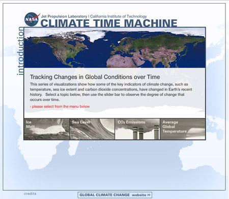 Climate Time Machine - La Máquina del Tiempo Climática
