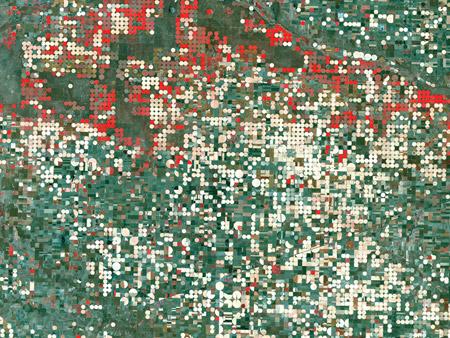 Garden City - Texas, Estados Unidos - imagen satelital