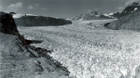 Glaciar Muir (Alaska) en 1941