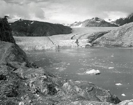 Glaciar Muir (Alaska) en 1950