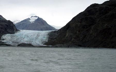 Glaciar Muir (Alaska) en 2003