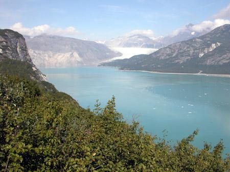 Glaciar Muir (Alaska) en 2004