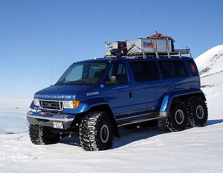 SSV (Science Support Vehicle) - Expedición Transantártica Moon-Regan