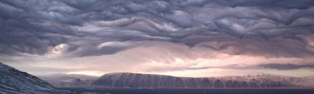 Apocalíptico ocaso en Groenlandia