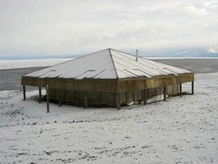 Campamento de Robert Scott - Antártida, 1911