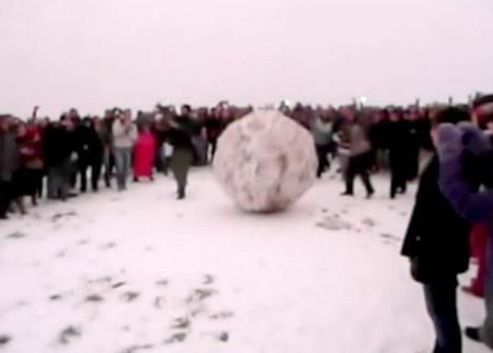 Bola de nieve en Londres