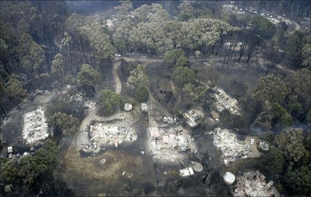 Incendios en el sur de Australia