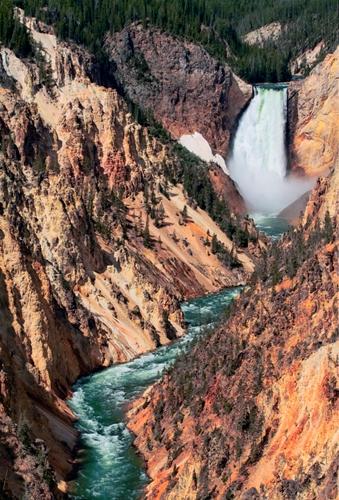 Cascada Yellowstone