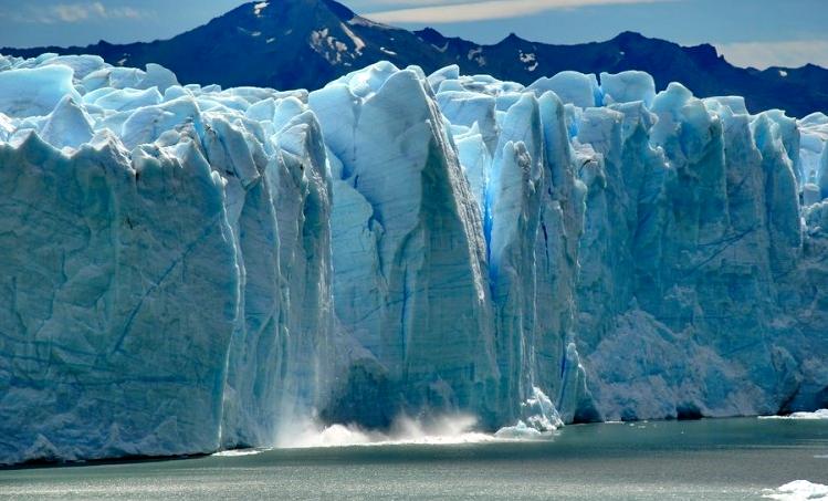 Cascada en el hielo