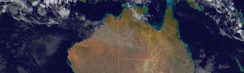 Australia imagen satelital