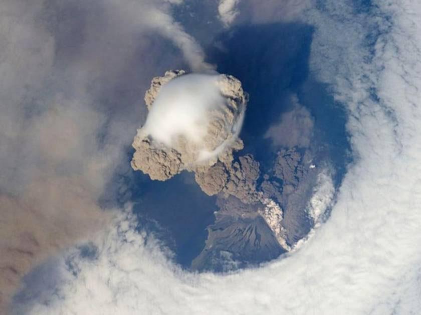 Volcan Islas Kuriles