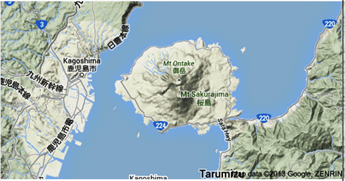 Mapaa volcan