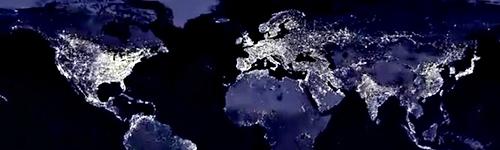 Luz planeta