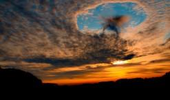 Nubes troqueladas