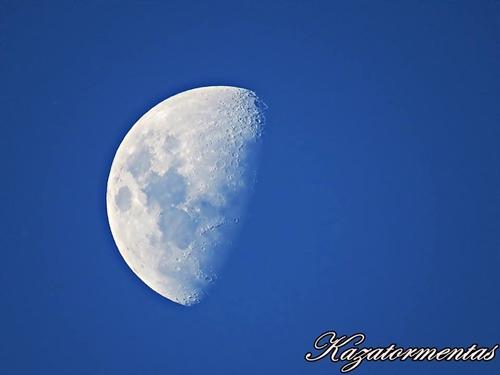 Luna en fase cuarto creciente y en apogeo   Nuestroclima