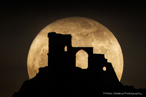 The Moon and Mow Cop