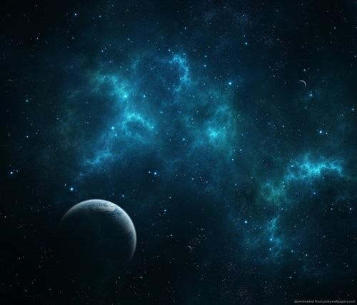 Nubes en el espacio