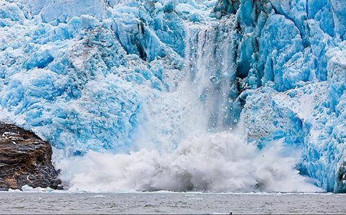 Calor y glaciares