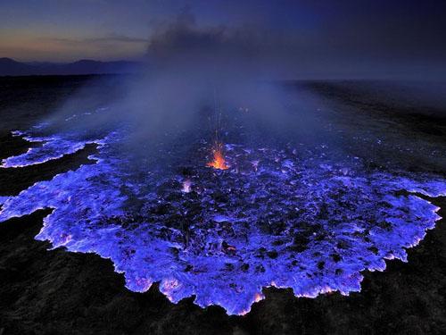 Presentacion de lava azul