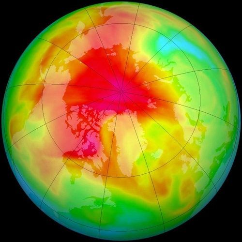 Antartida ozono