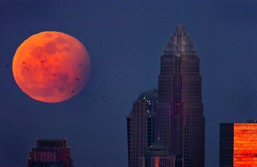 Luna eclipsada