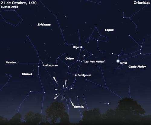Mapa meteorico