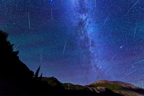 Meteoros cielo