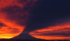 Volcan y sombra