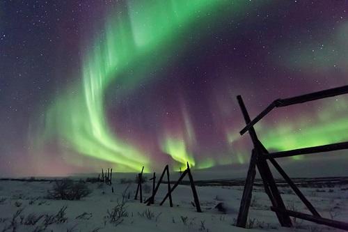 Auroras desde Rusia