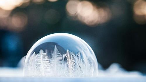 Burbuja bajo ceto
