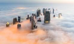 Dubai y la niebla