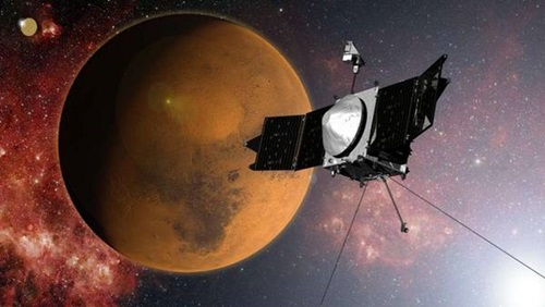 Marte y la nave