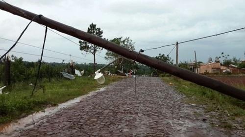 Tornado en Misiones