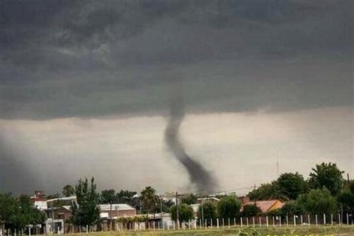 Tornado en Santa Fe