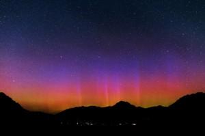 Auroras color