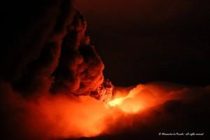 Etna erupcion