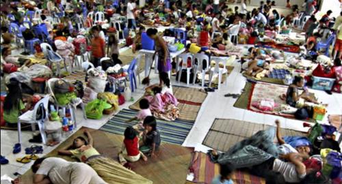 Evacuados Filipinas