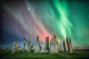 La noche en las piedras
