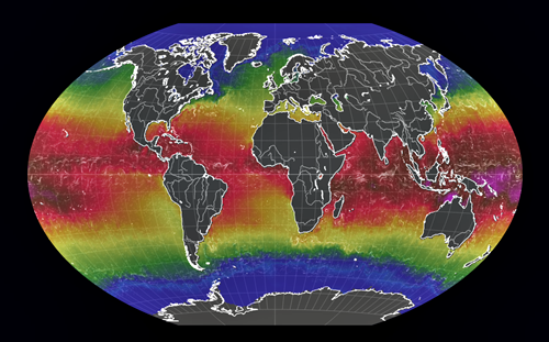 Mapa globo