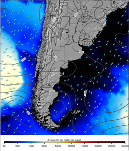 Mar mapa