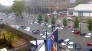 Montevideo bajo el agua