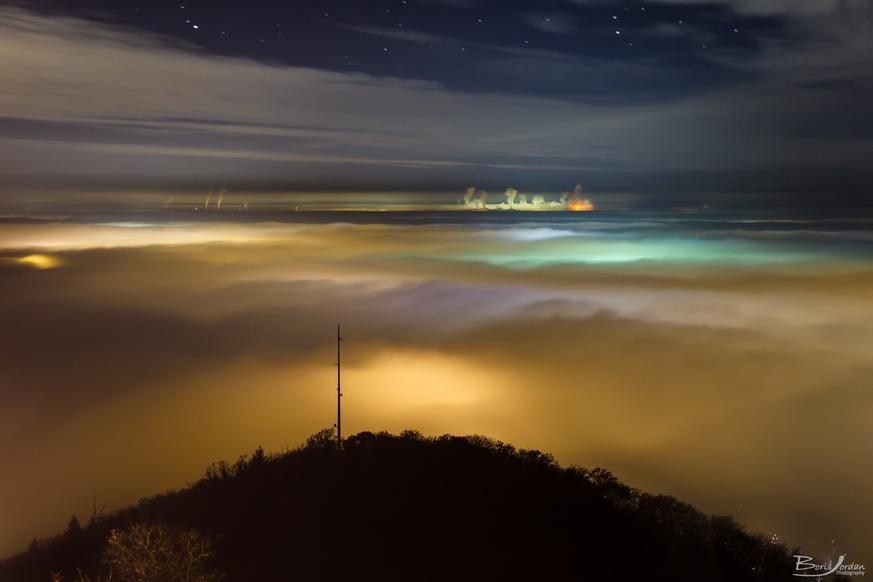 Nubosidad y mar