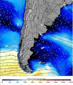 Olas Mapa