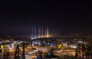 Pilares de Luz en el mundo