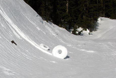 rollos de nieve cilindros de nieve 10