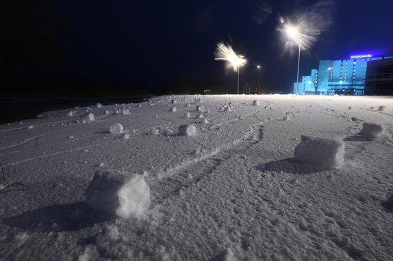 rollos de nieve cilindros de nieve 9
