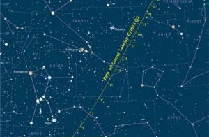 Mapa para encontrar a Lovejoy